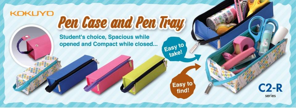 Pen Case and Pen Tray