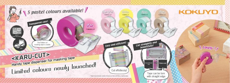 Handly Tape Dispenser for Masking Tape