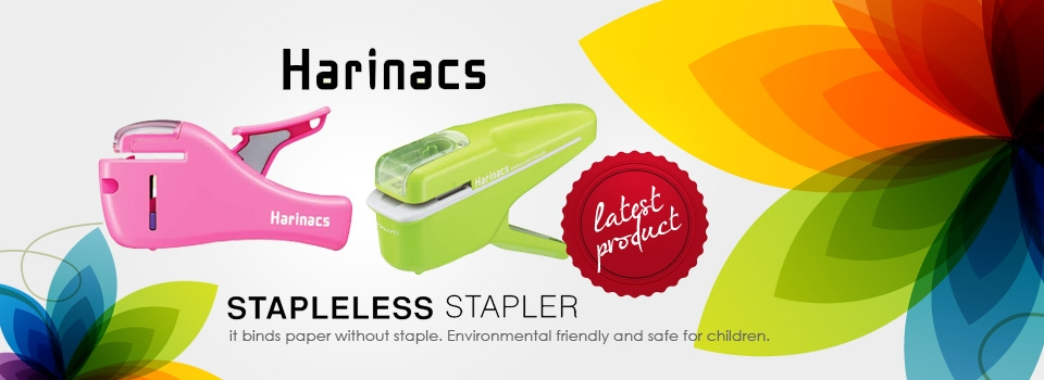 Harinacs Stapleless Stapler