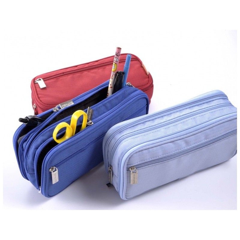 pen case 3pocket kokuyo